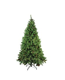 Pre-Lit Full Dakota Pine Artificial Christmas Tree