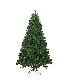 Pre-Lit Full Twin Lakes Fir Artificial Christmas Tree