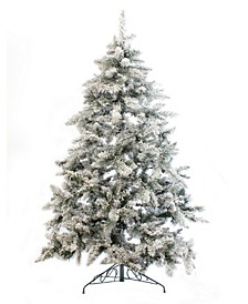 5' Alpine Spruce Snow Flocked Christmas Tree