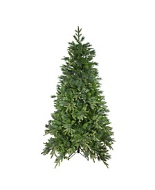 Unlit Medium Mixed Rose Mary Emerald Angel Pine Artificial Christmas Tree