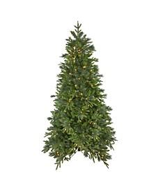 Pre-Lit Medium Mixed Colorado Pine Artificial Christmas Tree