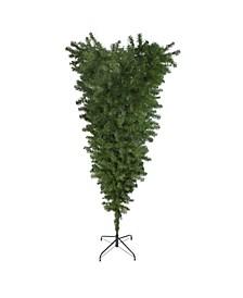 Upside Down Spruce Medium Artificial Christmas Tree-Unlit