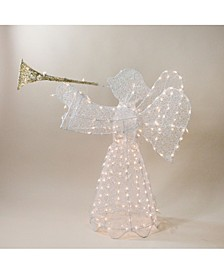 Pre-Lit Trumpeting Angel Outdoor Christmas Decoration