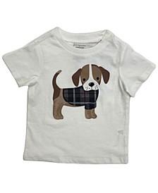 Toddler Boys Short Sleeve Sweater Beagle Tee, Created for Macy's