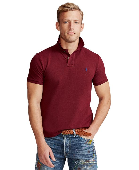 Polo Ralph Lauren Men's Custom Slim-Fit Mesh Polo