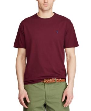 Polo Ralph Lauren Men's Big & Tall Classic-Fit Crewneck T-Shirt