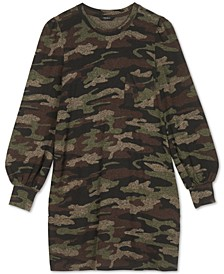 Camo-Print Dress