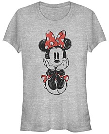 Women's Disney Mickey Classic Sitting Minnie Short Sleeve T-shirt