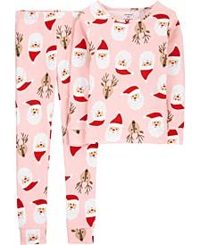 Big Girl  2-Piece 100% Snug Fit Cotton PJs