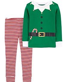 Toddler Boy or Girl 2-Piece 100% Snug Fit Cotton PJs