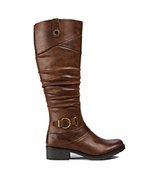 Onika Wide Calf Tall Shaft Women's Boot