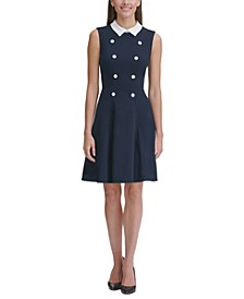 Petite Collared Shift Dress