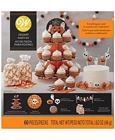 Party Hard 60-Pc. Halloween Dessert Party Kit