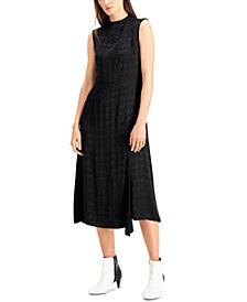 Alfani Mock Neck Midi Dress, Created for Macy's