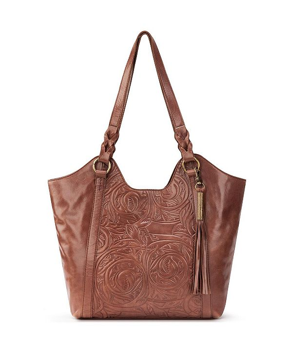 The Sak Sierra Leather Shopper