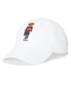 Polo Ralph Lauren Men's Polo Bear Chino Ball Cap
