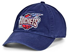 Houston Rockets Hardwood Classic Basic Adjustable Dad Hat