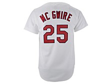 St. Louis Cardinals Men's Authentic Cooperstown Jersey Mark Mcgwire