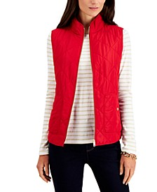 Quilted Vest, in Regular & Petite, Created for Macy's