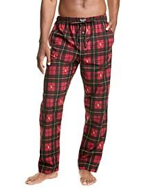 Men's Printed Woven Pajama Pants