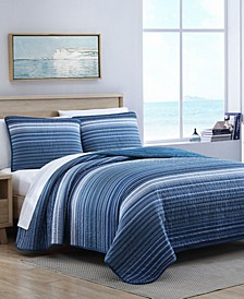 Coveside Quilt Set, Twin
