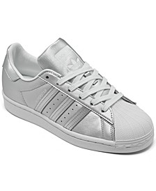 Women's Superstar Metallic Casual Sneakers from Finish Line