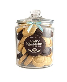 Cookie Gift Jar of Assorted Shortbread, 43 Count
