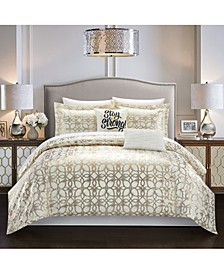 Shefield 4 Piece Twin Comforter Set