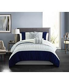 Fay 7 Piece Twin Comforter Set