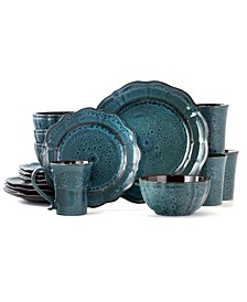 Lavish 16 Piece Dinnerware Set