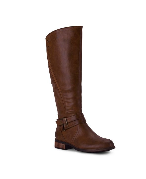 Wanted Women's Bergen Buckle Strap Tall Boots