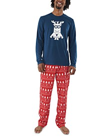 Matching Men's Holiday Minions Family Pajama Set