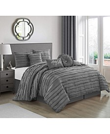 Suva 7-Piece Queen Comforter Set
