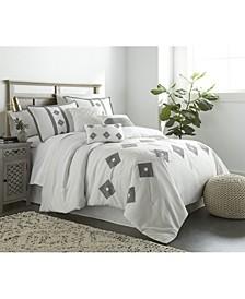 Belle 7-Piece California King Comforter Set