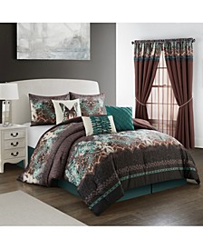 Capetown 7-Piece Queen Comforter Set