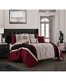 Naples 6-Piece Queen Comforter Set