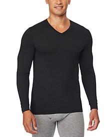 Men's Heat Plus Long-Sleeve V-Neck Shirt