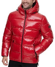 Men's High Shine Puffer Jacket