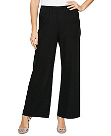 Pull-On Straight-Leg Pants