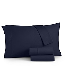 Jersey 4-Pc. California King Sheet Set, Created for Macy's