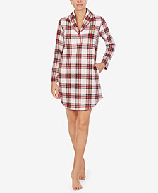 Short Fleece Sleep Shirt