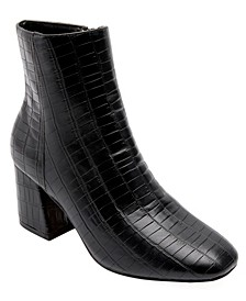 Women's Iris Croco Booties