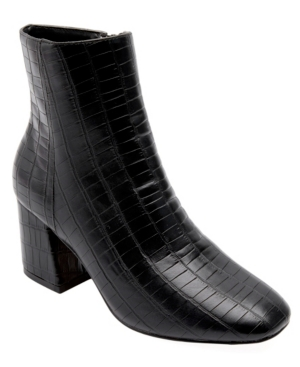 Women's Iris Croco Booties Women's Shoes