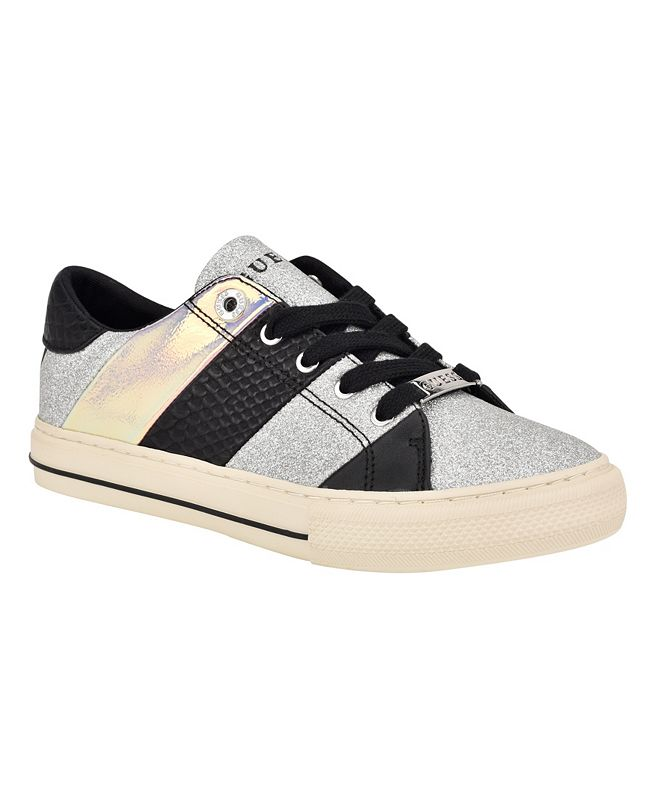 GUESS Women's Lust Lace-Up Sneakers