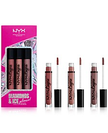3-Pc. Diamonds & Ice Please! Lip Lingerie Lipstick Set