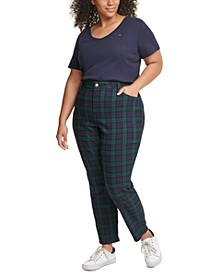 Plus Size Tribeca Tartan Pants