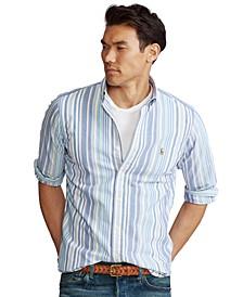 Men's  Big & Tall Classic-Fit Striped Oxford Shirt