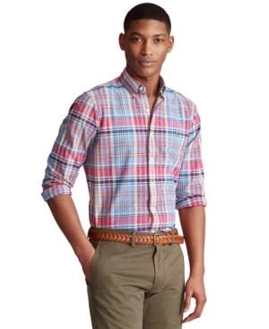Polo Ralph Lauren Men's Big & Tall Classic-Fit Striped Oxford Shirt