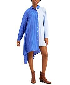 Oreste Asymmetrical Shirt Dress