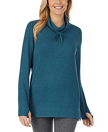 Ultra Cozy Long-Sleeve Cowlneck Tunic